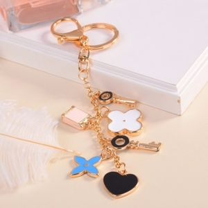 fashion Jewlery bag charm Accessories - Key Clover heart purse charm for Louis Vuitton Bag